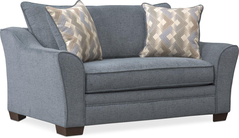 trevor twin sleeper chair and a half american signature furniture rh americansignaturefurniture com