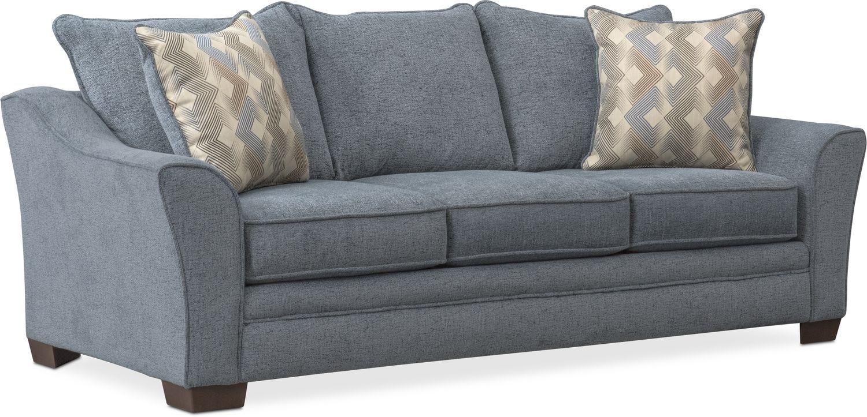 Living Room Furniture - Trevor Queen Sleeper Sofa