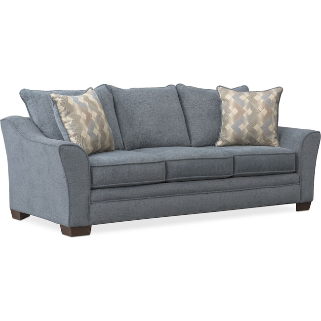 Living Room Furniture - Trevor Queen Sleeper Sofa