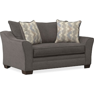 Trevor Twin Innerspring Sleeper Chair and a Half - Gray