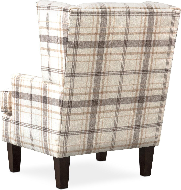 Rowan Accent Chair Plaid American Signature Furniture