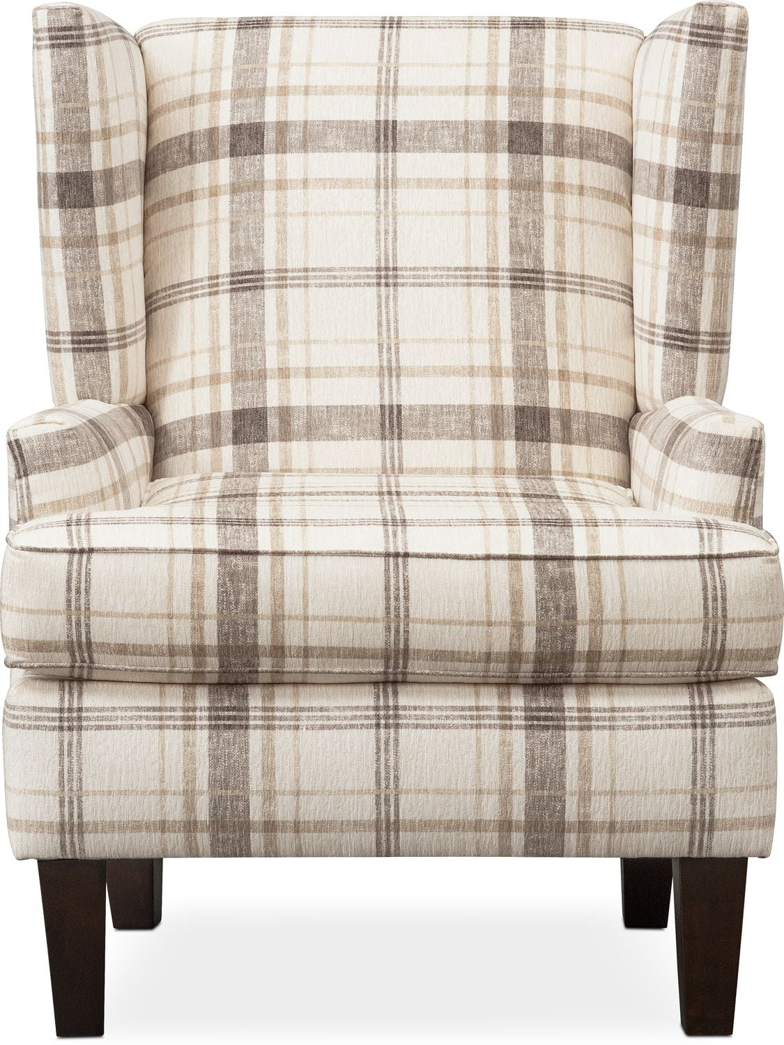 Rowan Accent Chair Plaid American Signature Furniture