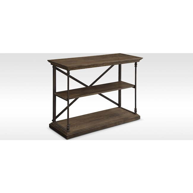 Home Office Furniture - Bedford Short Bookcase - Pine