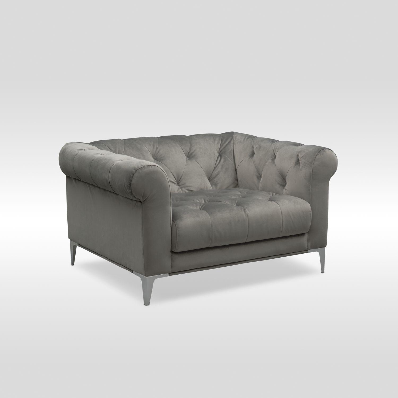 Best Value Furniture Store: David Cuddler Chair - Flannel