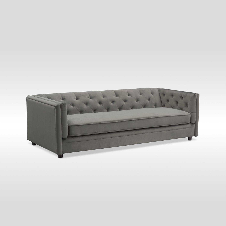 Gabe Sofa - Flannel | American Signature Furniture