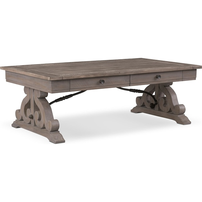 Accent And Occasional Furniture Charthouse Coffee Table Gray