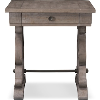 Charthouse End Table - Gray