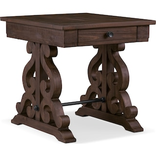 Charthouse End Table - Charcoal