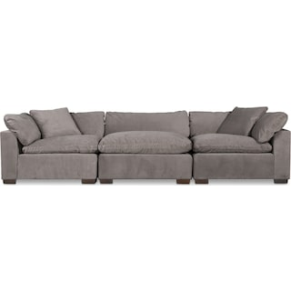 Plush 3-Piece Sectional