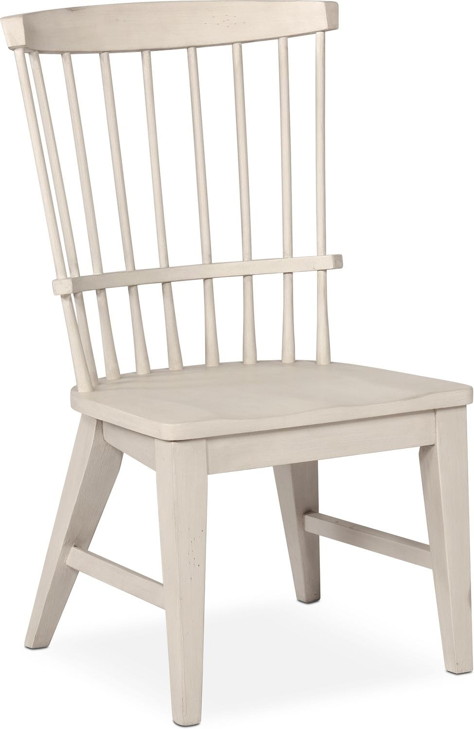 Dining Room Furniture   New Haven Windsor Side Chair   White