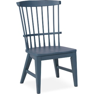 New Haven Windsor Side Chair - Blue