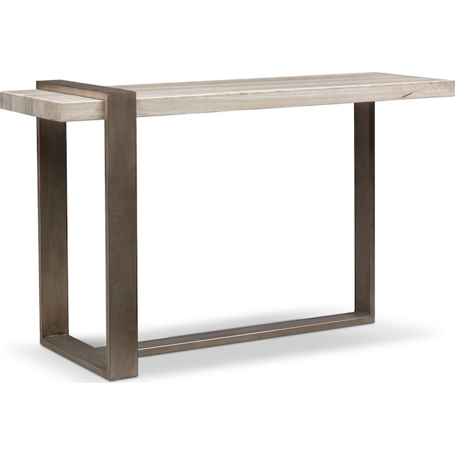 Accent and Occasional Furniture - Celadon Marble Sofa Table