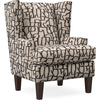 Brooke Accent Chair - Black