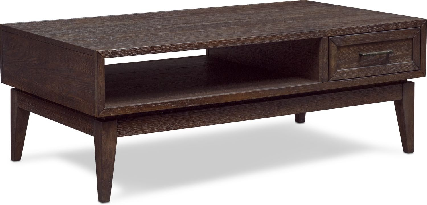 Accent and Occasional Furniture - Saybrook Coffee Table - Umber