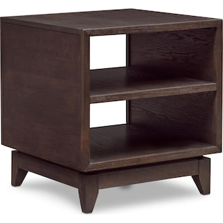 Saybrook End Table - Umber