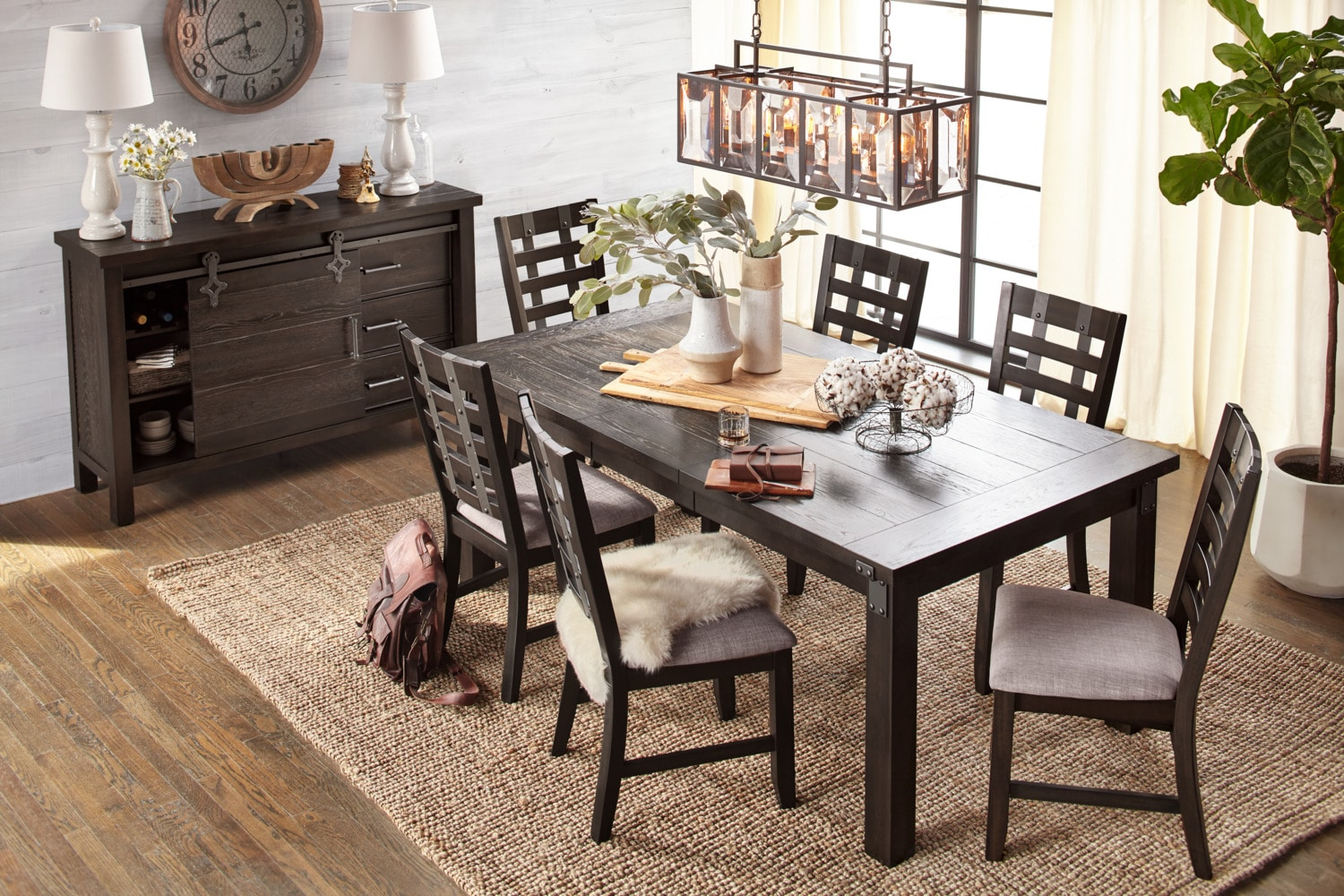 The Hampton Dining Collection American Signature Furniture