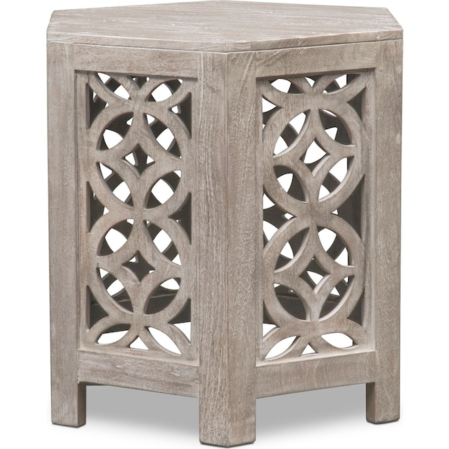 Accent and Occasional Furniture - Parlor End Table - Gray