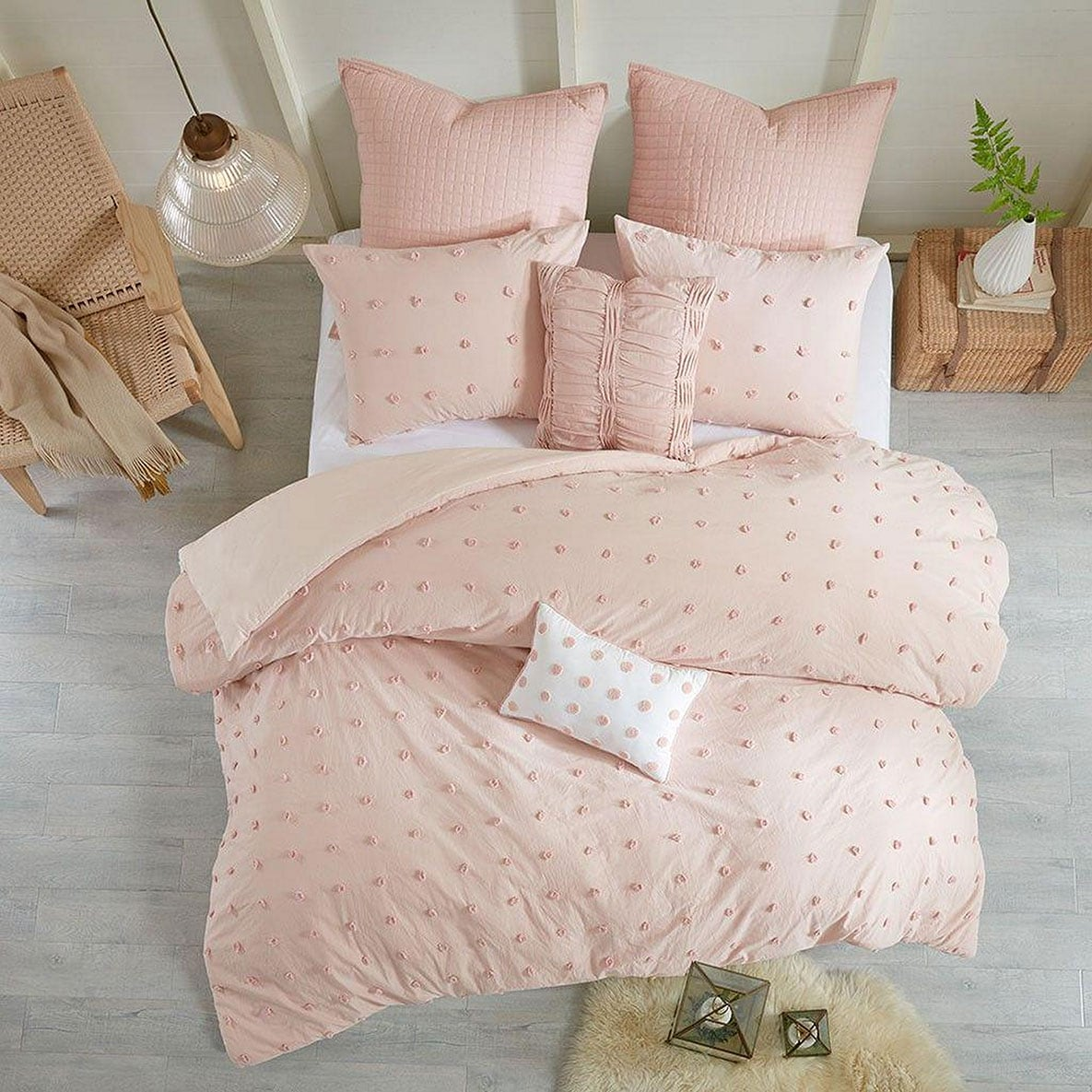 The Brooklyn Bedding Collection - Blush