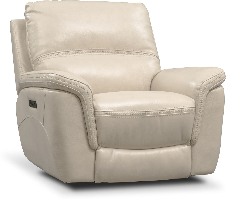 Living Room Furniture - Avanti Triple Power Recliner