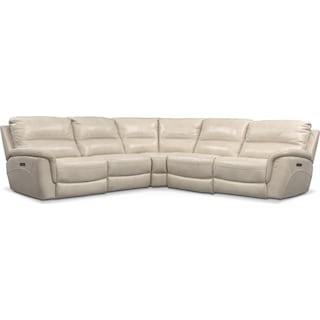 Avanti 5-Piece Triple Power Reclining Sectional with 2 Reclining Seats