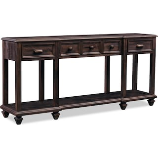 Roxboro Sofa Table - Bark