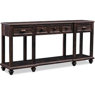 Roxboro Sofa Table Bark
