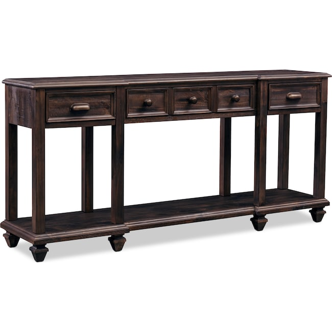 Accent and Occasional Furniture - Roxboro Sofa Table - Bark