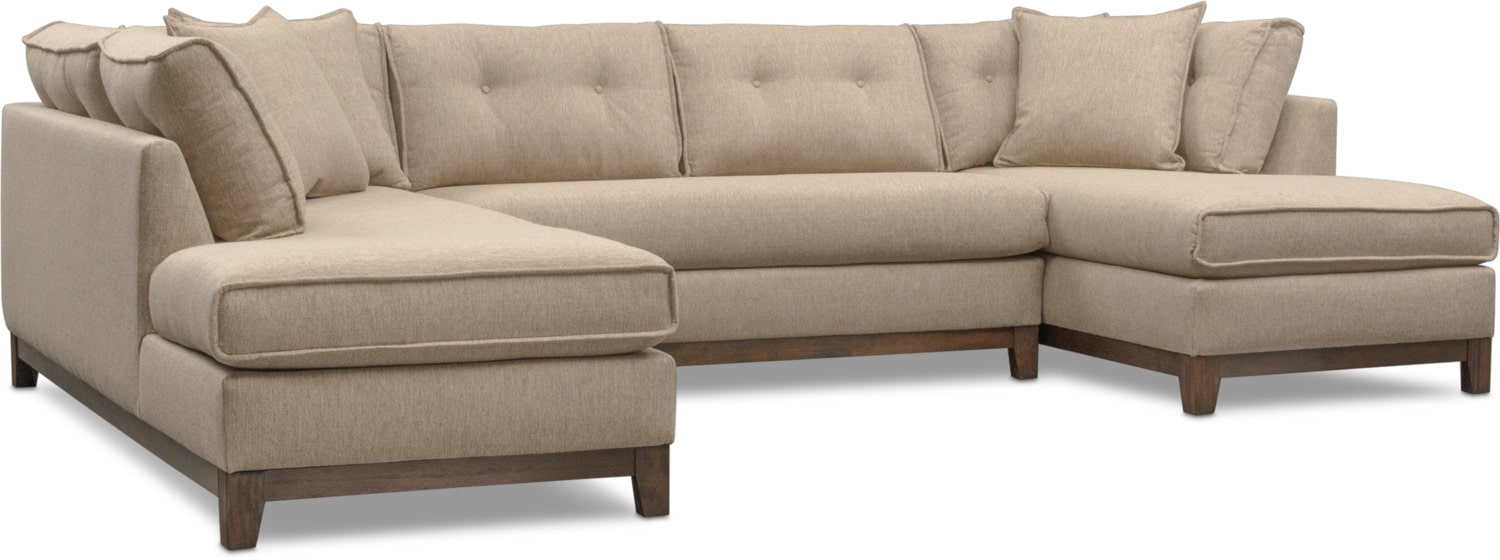 Living Room Furniture - Eastwood 3-Piece Sectional
