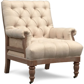 Bridget Accent Chair - Cream