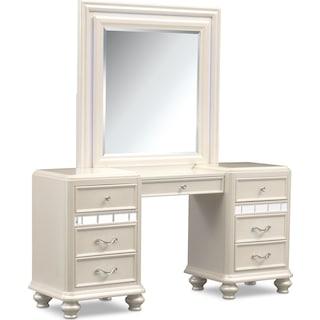 Sabrina Vanity and Mirror