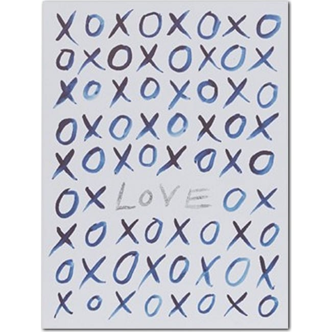Accent and Occasional Furniture - XO Love Canvas Print