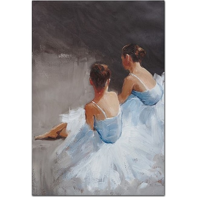 Accent and Occasional Furniture - Dance with Me Canvas Print