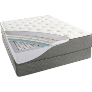 Alpine White Plush Mattress
