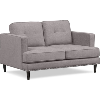 Parker Loveseat - Gray