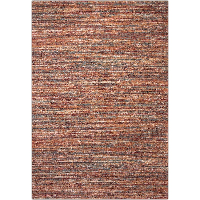 Rugs - Granada 5' x 8' Area Rug - Red