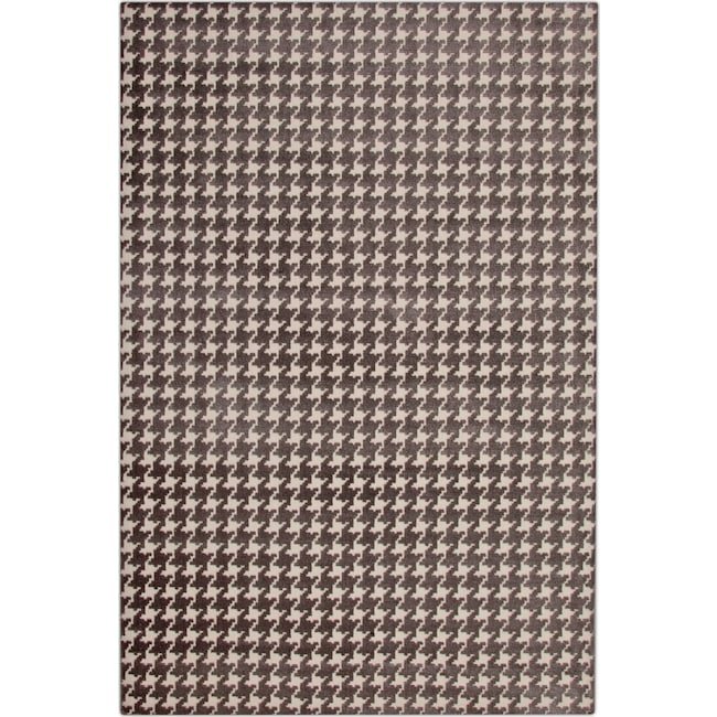 Rugs - Metro Area Rug - Gray and Ivory