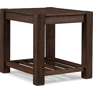 Tribeca End Table - Tobacco