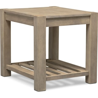 Tribeca End Table - Gray