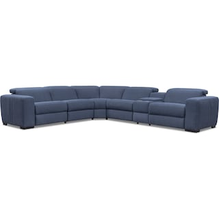 Tino 6-Piece Dual Power Reclining Sectional