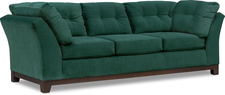 Attractive Living Room Furniture   Sebring Sofa   Emerald