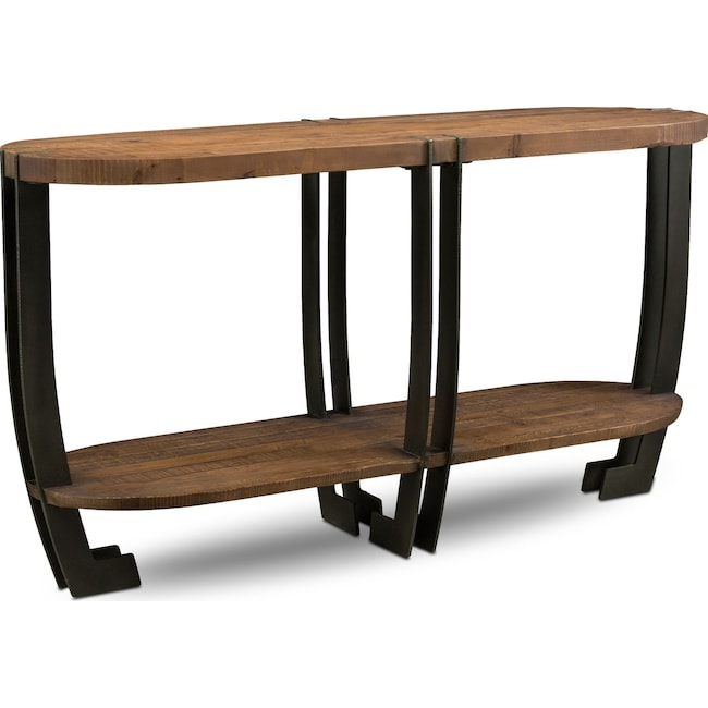 Accent and Occasional Furniture - Wessex Sofa Table - Reclaimed Pine
