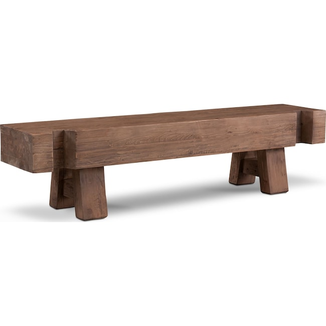 Accent and Occasional Furniture - Wessex Bench - Reclaimed Pine