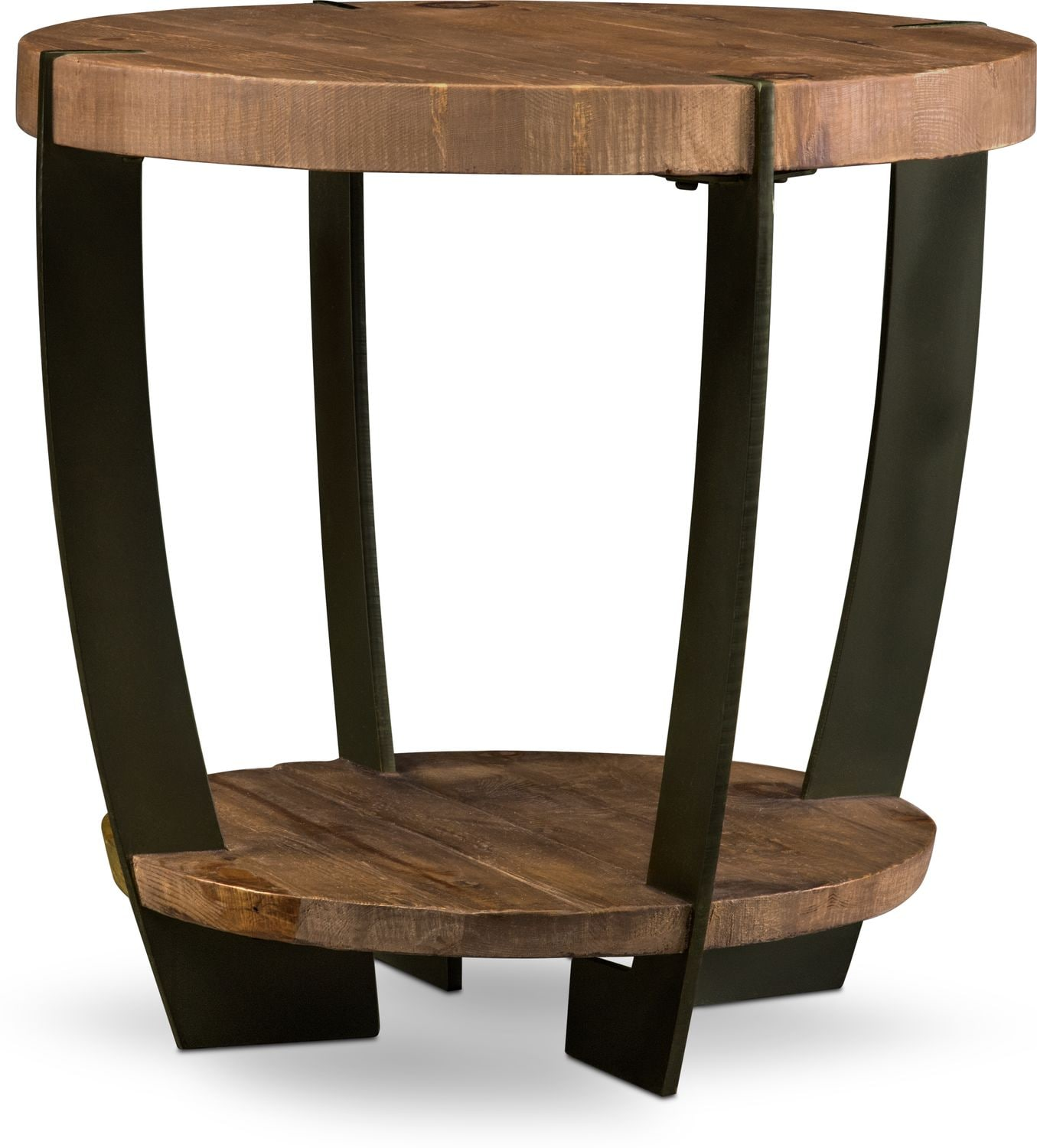 Tap To Change Wessex End Table   Reclaimed Pine ...
