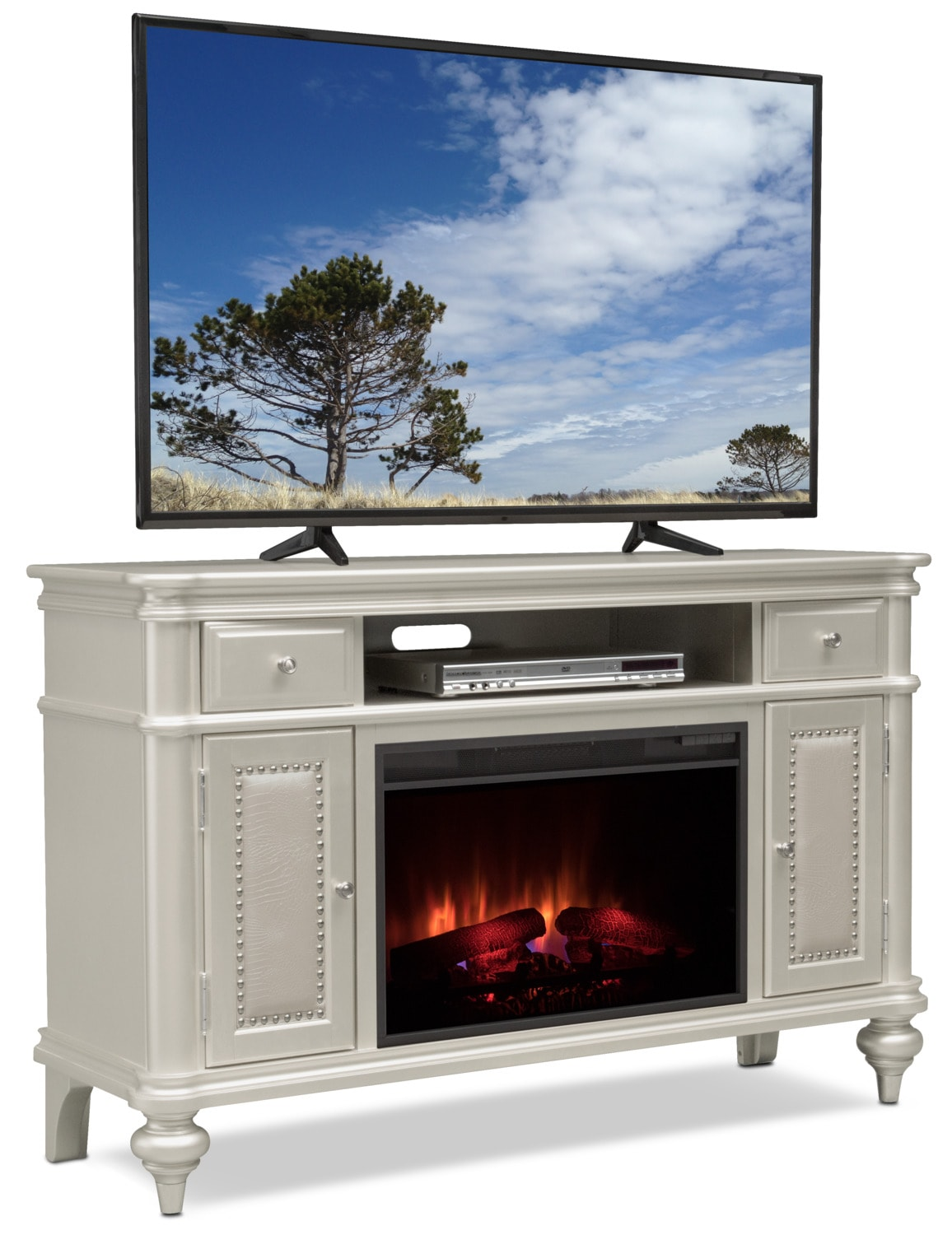 Entertainment Furniture - Esquire Fireplace TV Stand