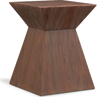 Cairo End Table - Reclaimed Elm