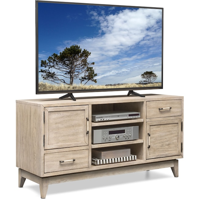 "Entertainment Furniture - Saybrook 54"" TV Stand - Sandstone"