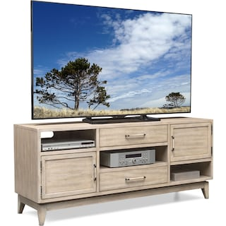 "Saybrook 66"" TV Stand - Sandstone"