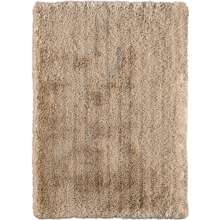 Ultra Shag 8' x 10' Area Rug - Gold