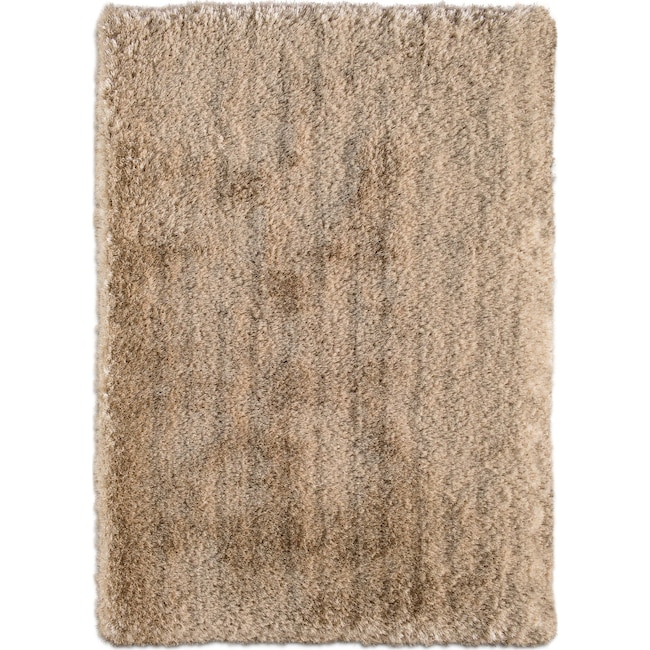 Rugs - Ultra Shag Area Rug - Gold
