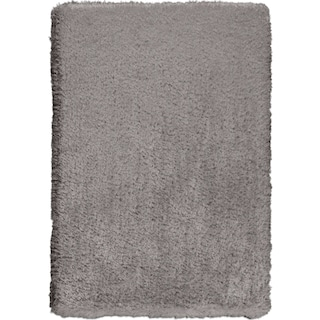 Ultra Shag 8' x 10' Area Rug - Gray